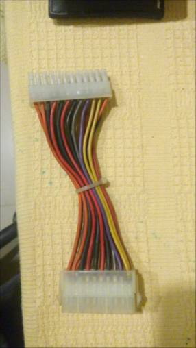 Adaptador de fuente para placa 20 a 24 Pinos